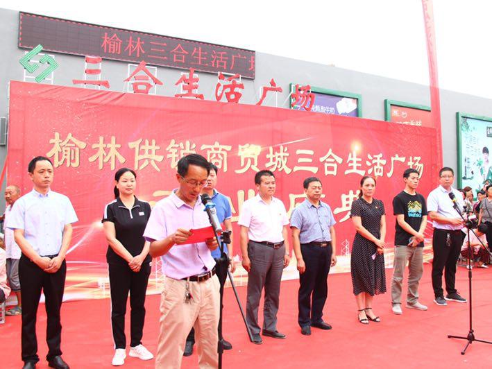 喜迎省供销总社第七届社员代表大会的胜利召开延津县榆林供销社商贸城三合超市开业